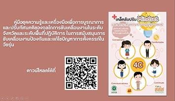 ประชาสัมพันธ์ : เผยแพร่ชุดความรู้และสื่อการเรียนรู้การพัฒนากลไกการดำเนินงานป้องกันและแก้ไขปัญหาการตั้งครรภ์ในวัยรุ่น (เคล็ดลับปรับ Mindset และยกระดับการบูรณาการ)